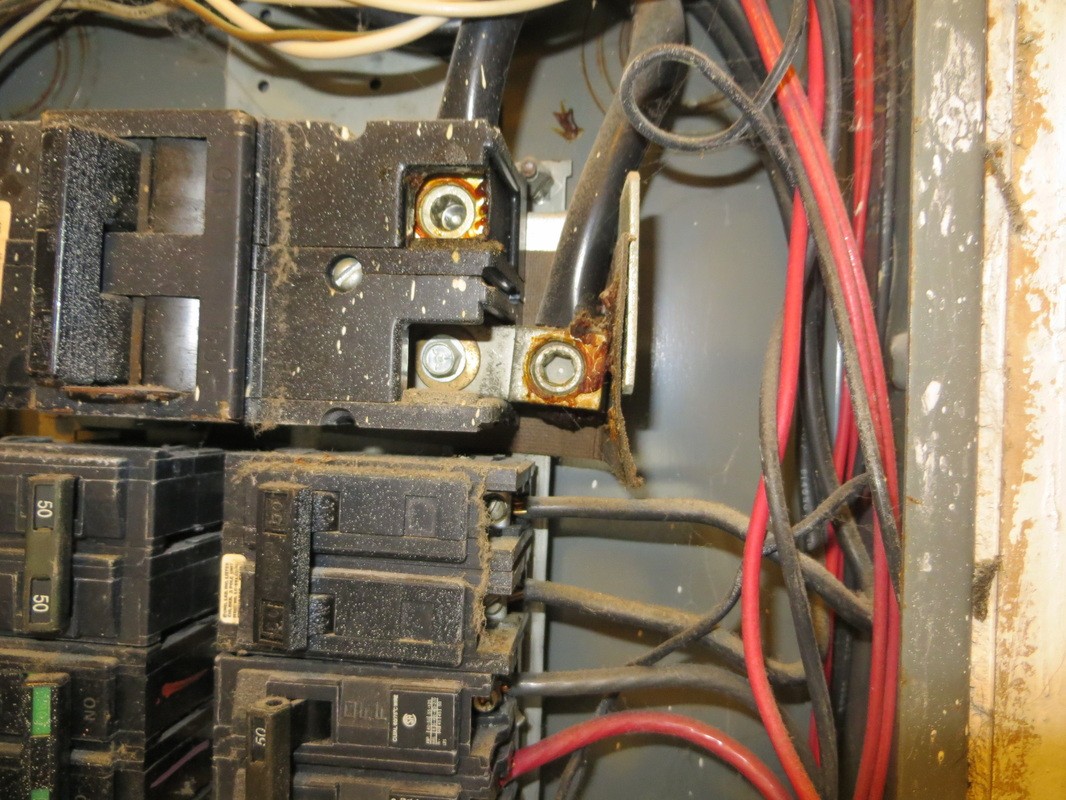 Gallery Hgr Group Home Inspections Inspection Overheated Electrical Wiring Water
